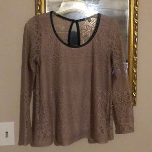 Light Pink Lace Blouse